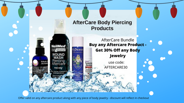 Aftercare Piercing Products - Fashion Hut Jewelry
