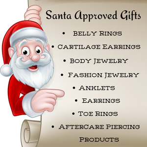 Christmas Body Jewelry, xmas Fashion Jewelry, Cartilage Earrings and more - Fashion Hut Jewelry
