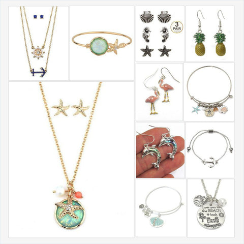 summer jewelry - beach jewelry - Fashion Hut Jewelry
