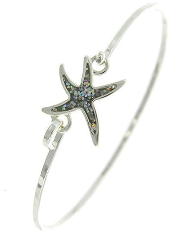 Sea Life Starfish Bangle Bracelet - Fashion Hut Jewelry