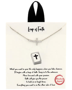 Leap of Faith Necklace - Fashion Hut Jewelry