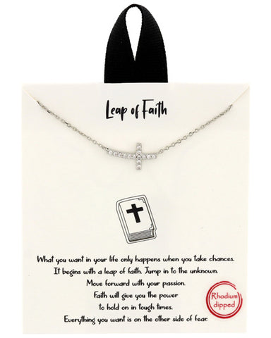 Leap of Faith Necklace