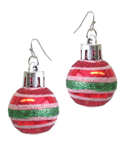 Christmas Ornament Christmas Earrings - Fashion Hut Jewelry