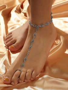 Vintage Bohemian Anklet Toe Ring Barefoot Sandal Anklet - Fashion Hut Jewelry