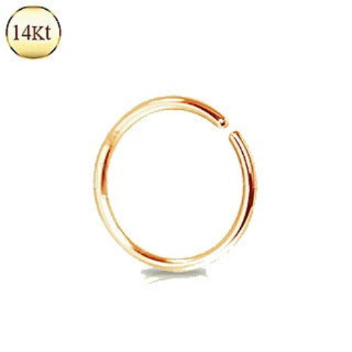 14Kt. Rose Gold Seamless Ring - Fashion Hut Jewelry