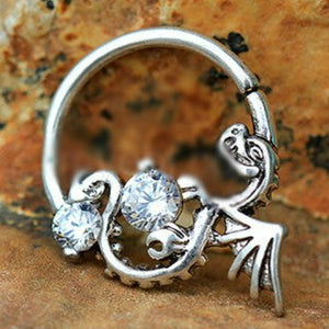 Flying Dragon Annealed Seamless Ring