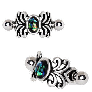 316L Stainless Steel Medieval Design Vine Cartilage Cuff Earring - Fashion Hut Jewelry