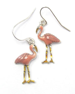 Pink Flamingo Earrings - Fashion Hut Jewelry