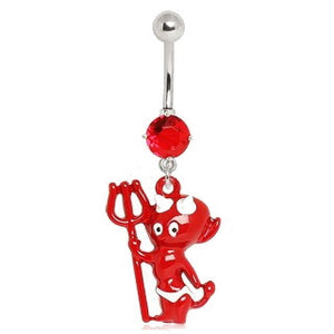 Baby Devil Navel Ring - Fashion Hut Jewelry