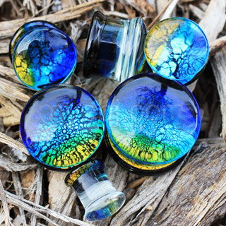 Oceanic Design Glass Saddle Plug