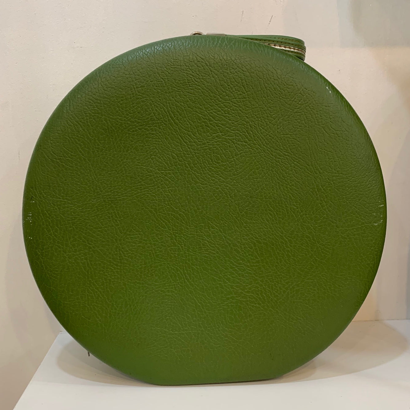 Vintage No Brand Forrest Green Hat Box