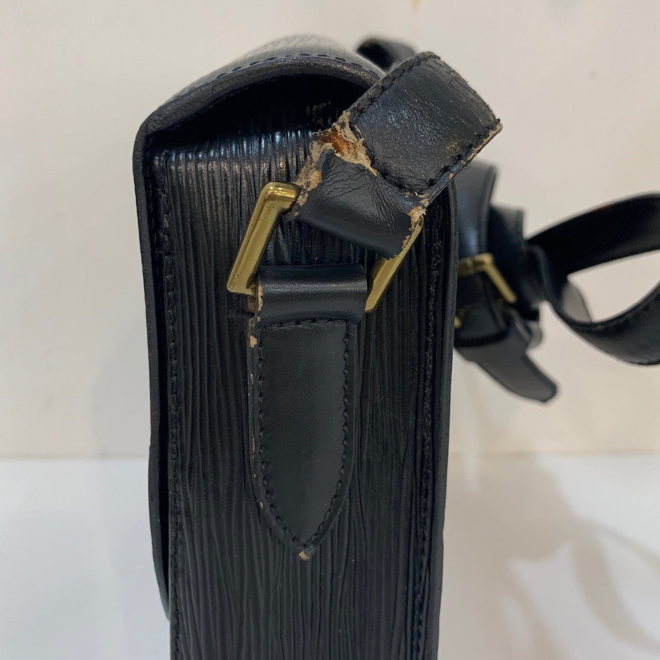 Louis Vuitton Black Epi Leather Crossbody