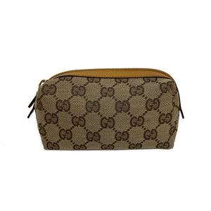 Gucci Brown Mini Monogram Pouch