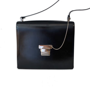 Gucci Vintage Structured Shoulder Bag