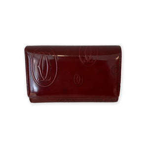 Cartier Red Patent Leather Wallet