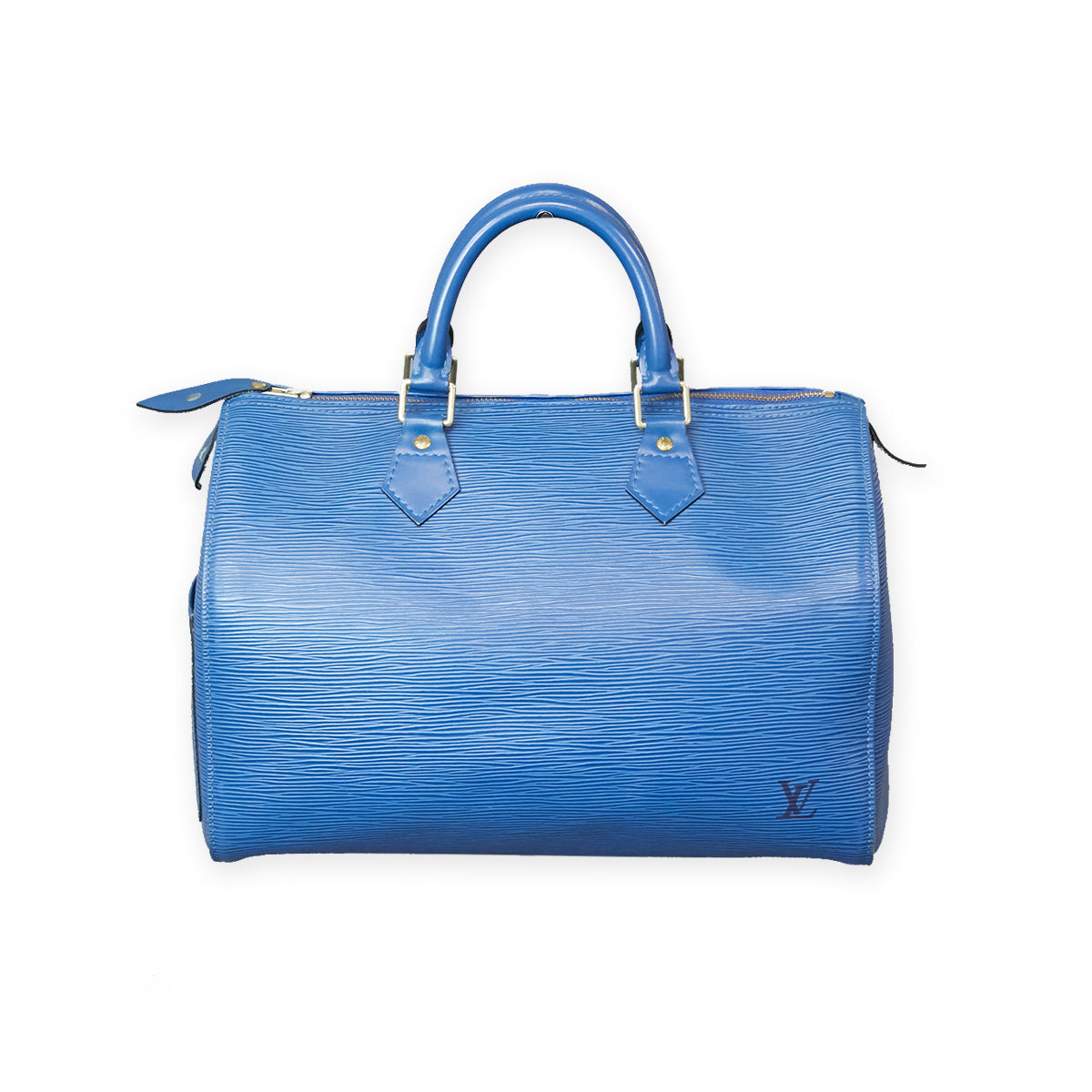 LOUIS VUITTON Epi Speedy 30 Blue