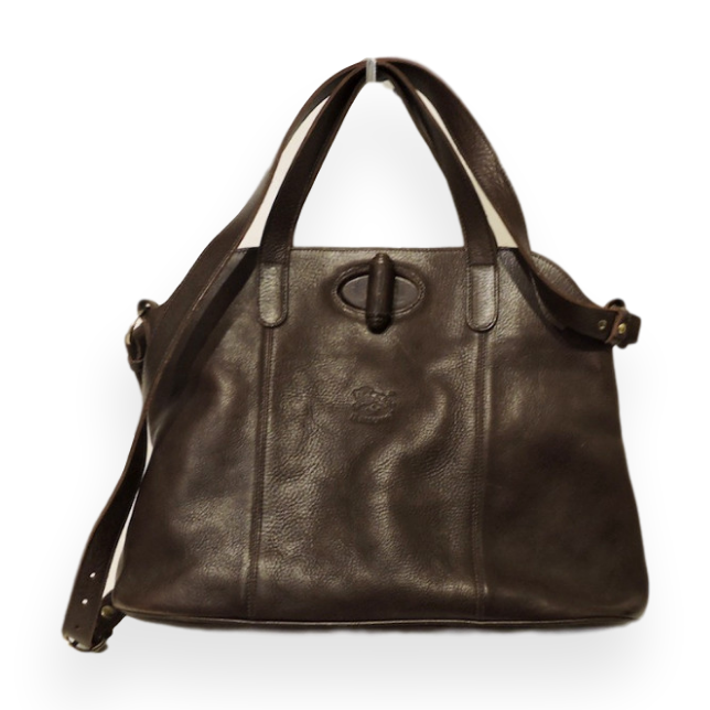 IL Bisonte Dark Brown Shoulder Bag