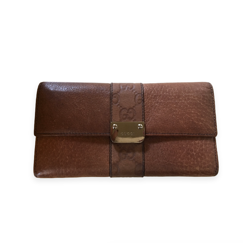 Gucci Brown Womens Wallet