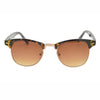 Classic 1980's Semi Rim Browline Vintage Sunglasses - Sunglassinn