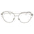 Ladies Fashion Large Oversized Cat Eye Clear Lens Glasses - Sunglassinn