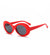 Dakar Oval Kurt Cobain Clout Sunglasses Nirvana Grunge - Sunglassinn