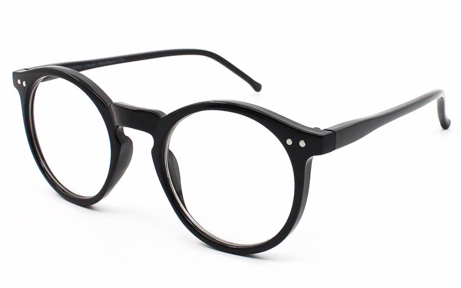 Thin round geek nerd clear lens glasses eyeglasses