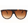 Oversize Celebrity Vintage Flat Top Retro Sunglasses Ladies - Sunglassinn