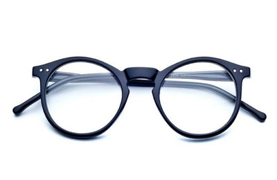 Circle Round keyhole Frame Vintage Clear Lens Glasses - Sunglassinn