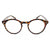 Small Round Oval Frame Clear Lens Men Women's Glasses - Sunglassinn