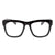 Thick Black Frame Geek Clear Lens Fashion Glasses 80's - Sunglassinn