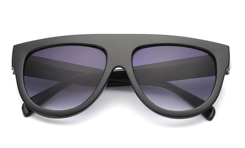 Flat Top ladies shadow shield sunglasses kim kardashian