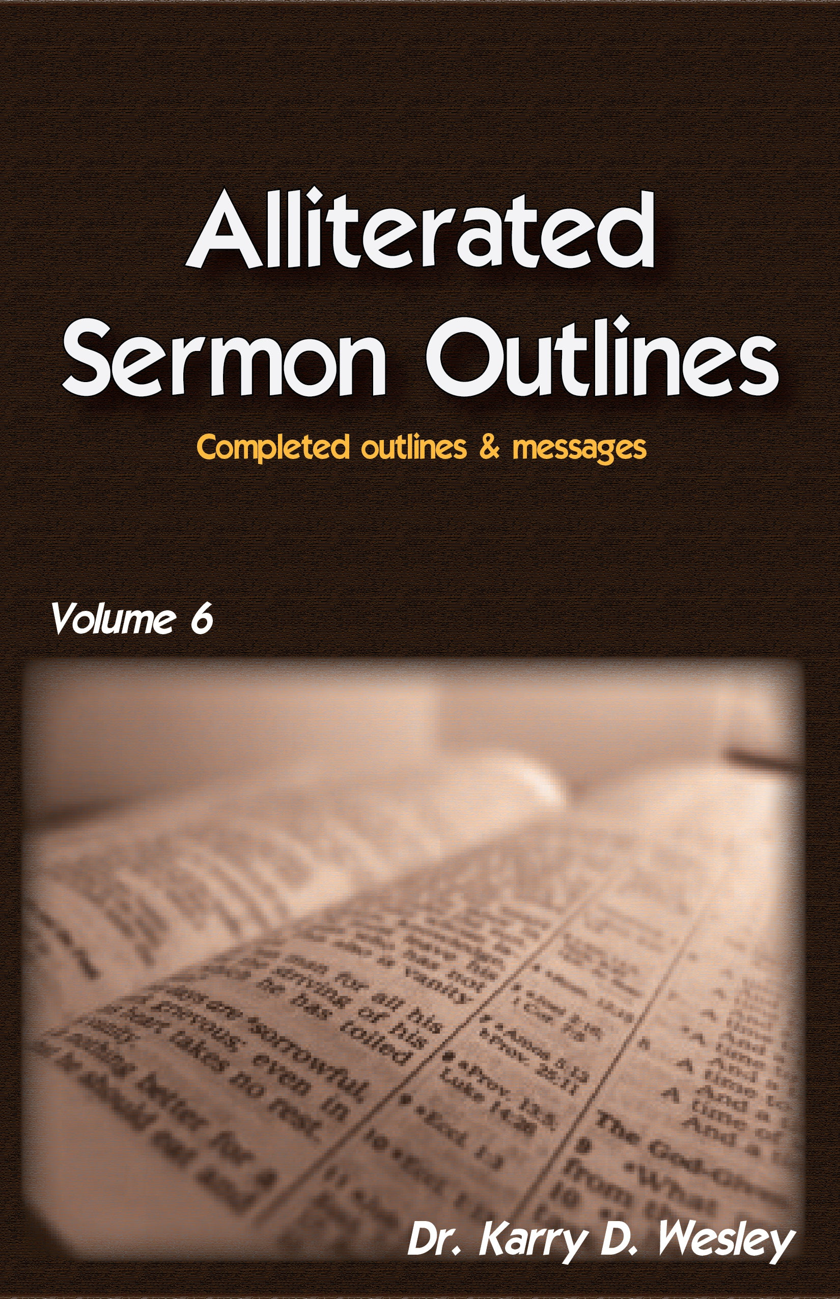 Alliterated Sermons - Volume 6