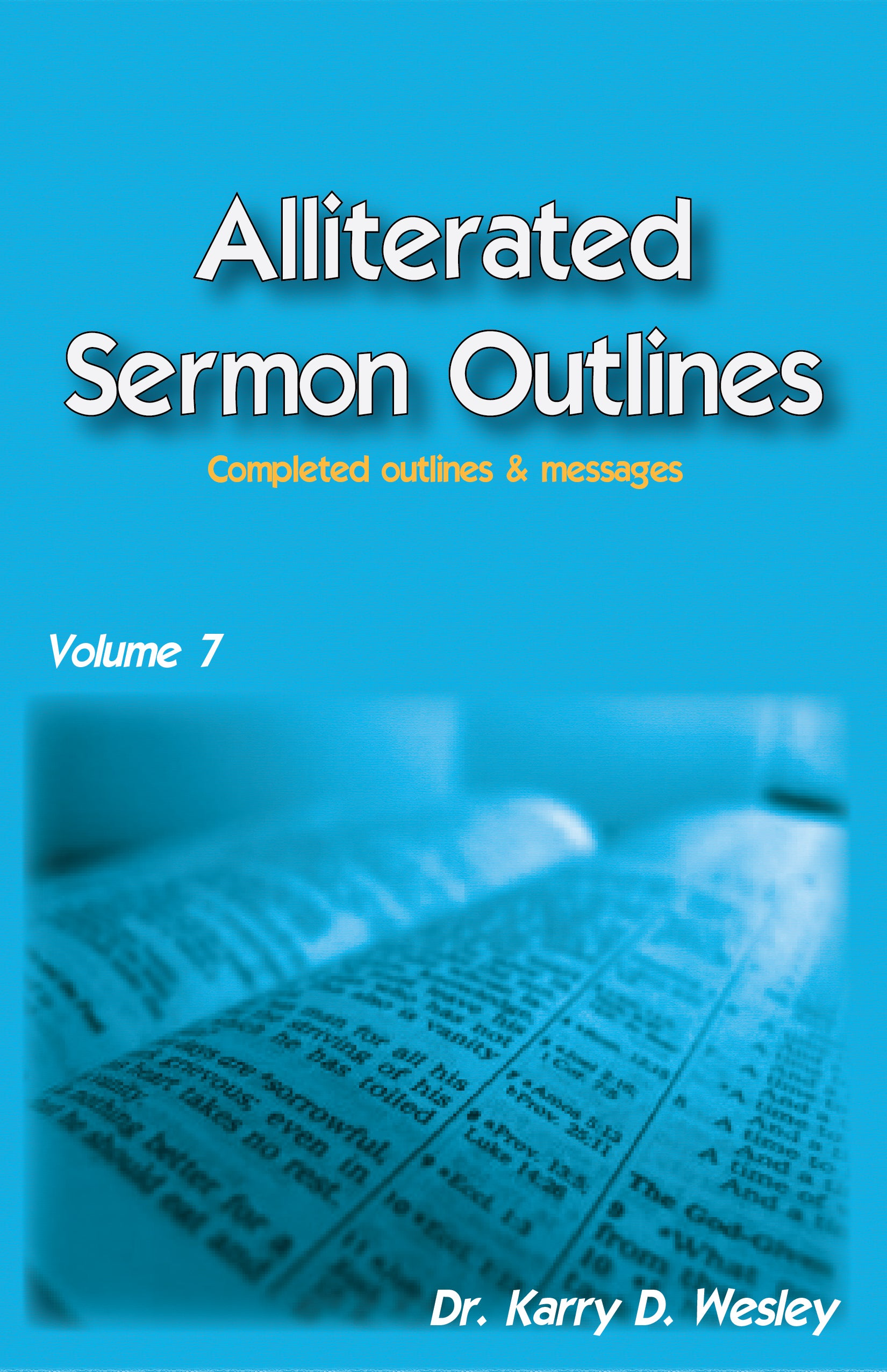 Alliterated Sermons - Volume 7