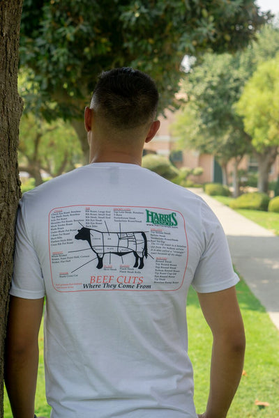 Harris Ranch Beef Cuts T-shirt