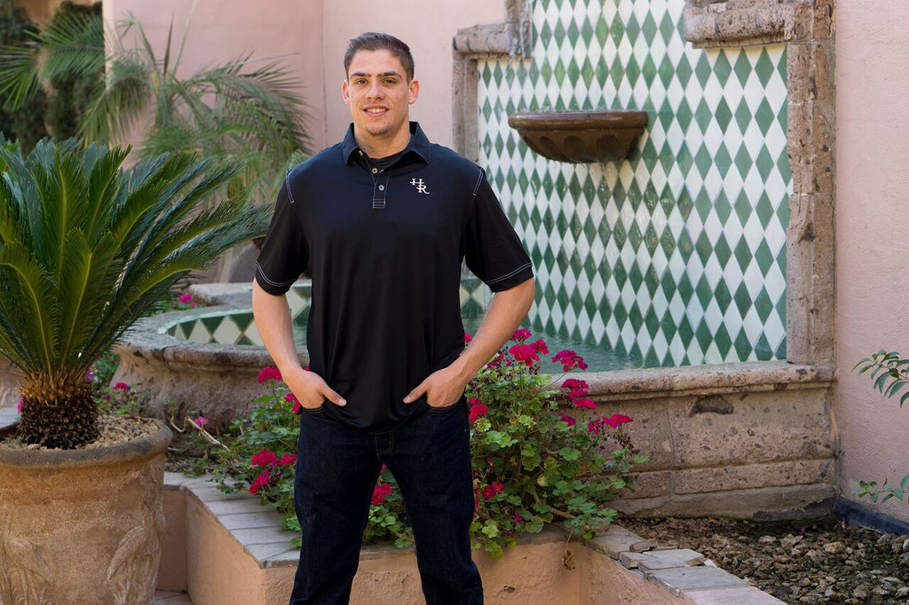 Harris Ranch Industrial Stitch Polo Shirt