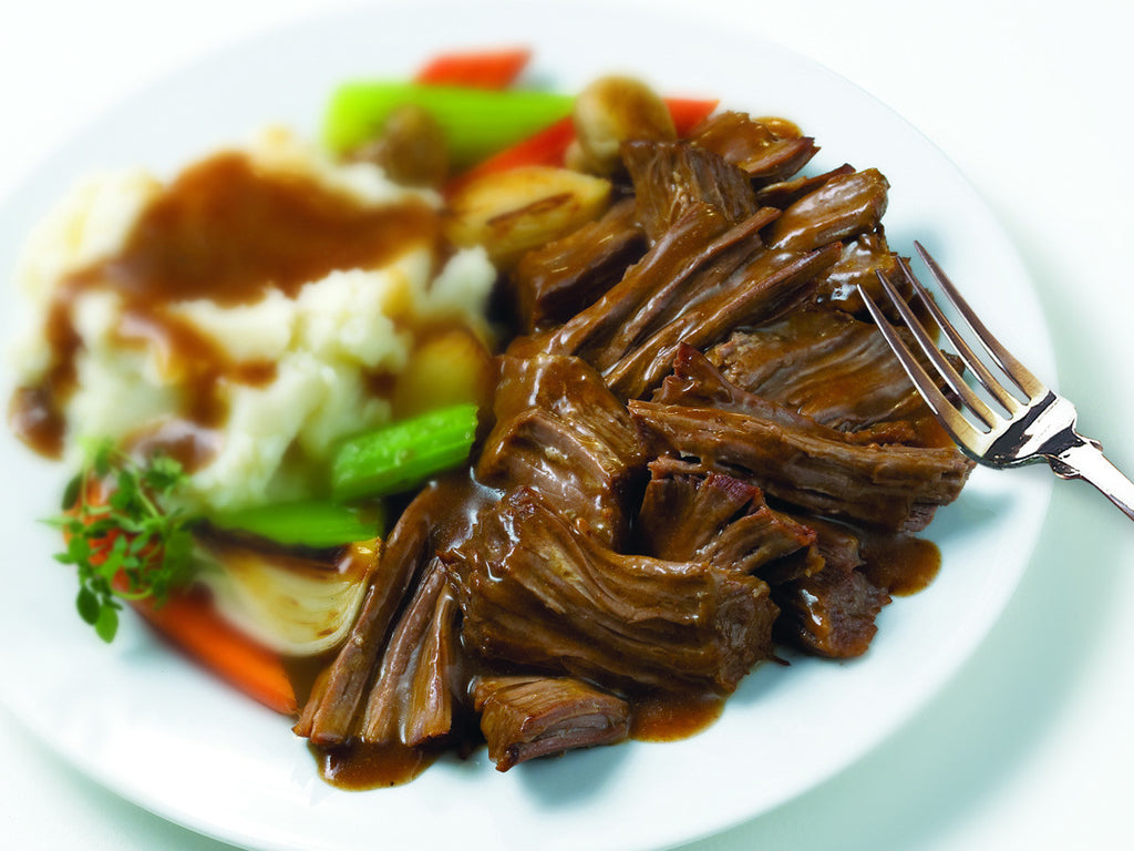 Fully Cooked Beef Homestyle Pot Roast