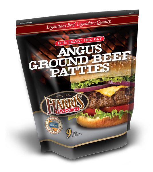 All Natural Ground Beef Patties