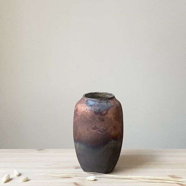 Large unique Raku Vase no. 3