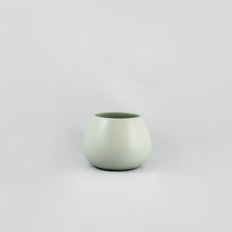Vase-LAND Vase Low-Mette Duedahl-It's yo no bi