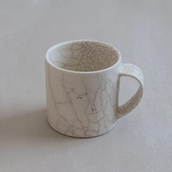 Mug Crackle glaze - large