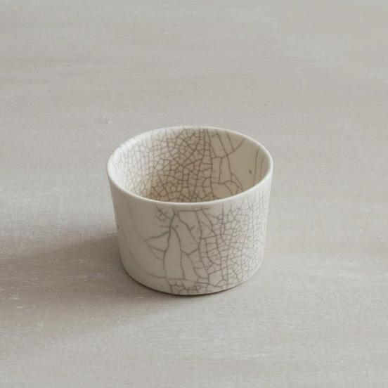Small Crackle dessert cup