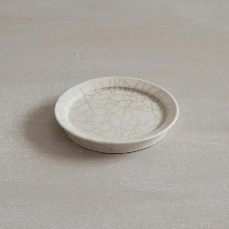 Plate crackle glaze - Small