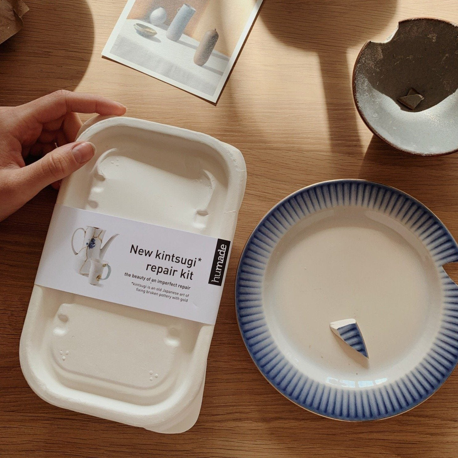 Kintsugi porcelain repair kit