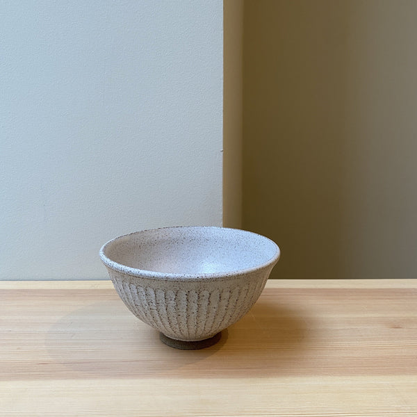 Carved Shino Bowl