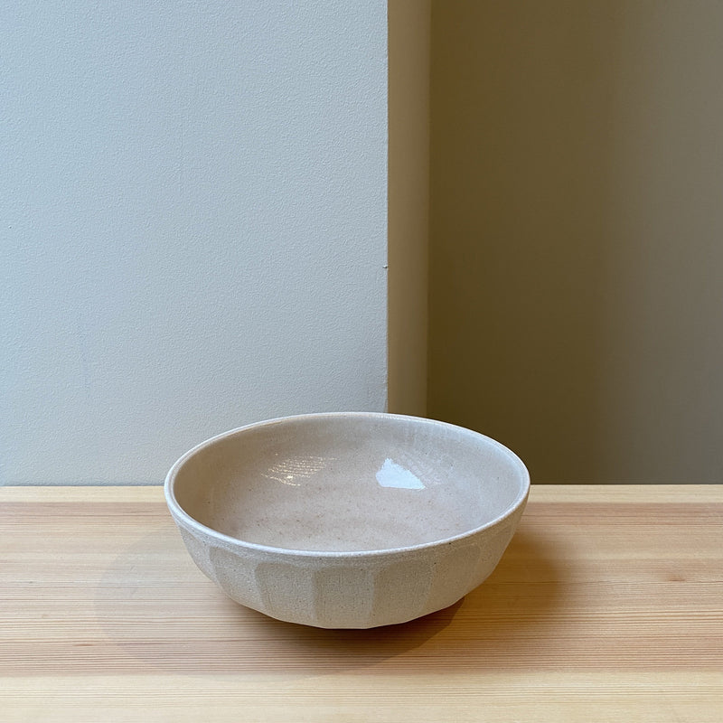 Raw Carved Bowl - large