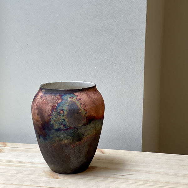 Large unique Raku Vase no. 7