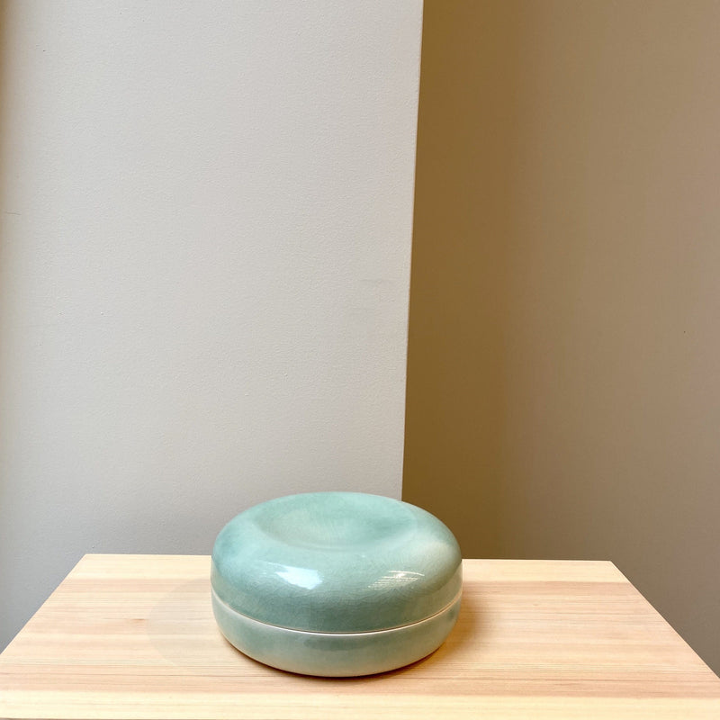 Container-Low PEBBLE BOX-Oh Oak-YONOBI