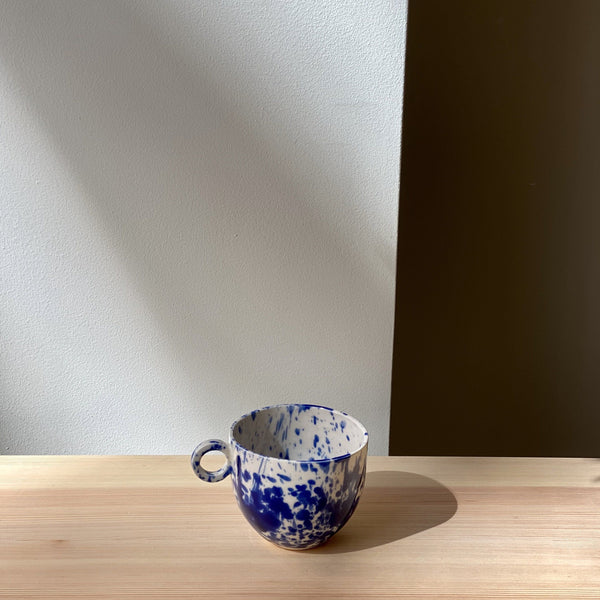 mug-Blue and white splatter mug-Anna Jones-YONOBI