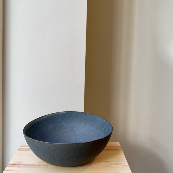 Bowl-Blue large bowl-Linda Ouhbi-It's yo no bi