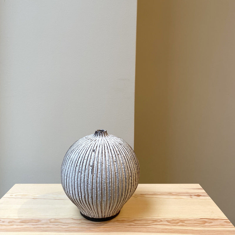 Unique Fluted Vase